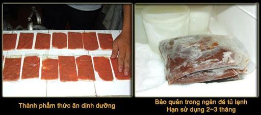 Cách làm tim bò cho cá đĩa