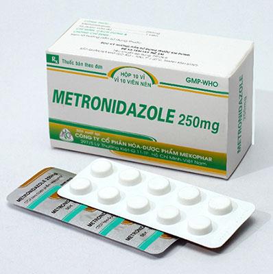 thuốc metronidazole 250mg
